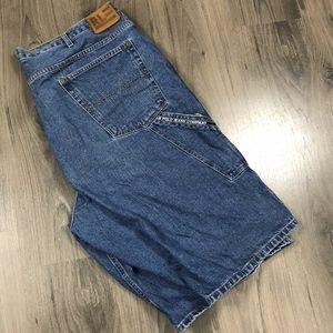 Vintage Polo Jeans Ralph Lauren Denim Shorts 42